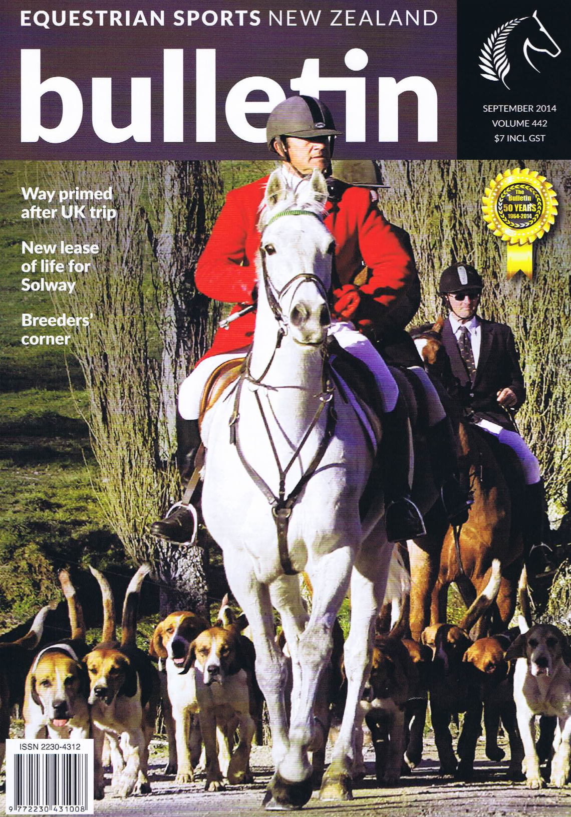 Equestrian Sports NZ-September 2014