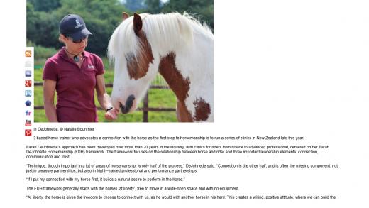 Horsetalk NZ